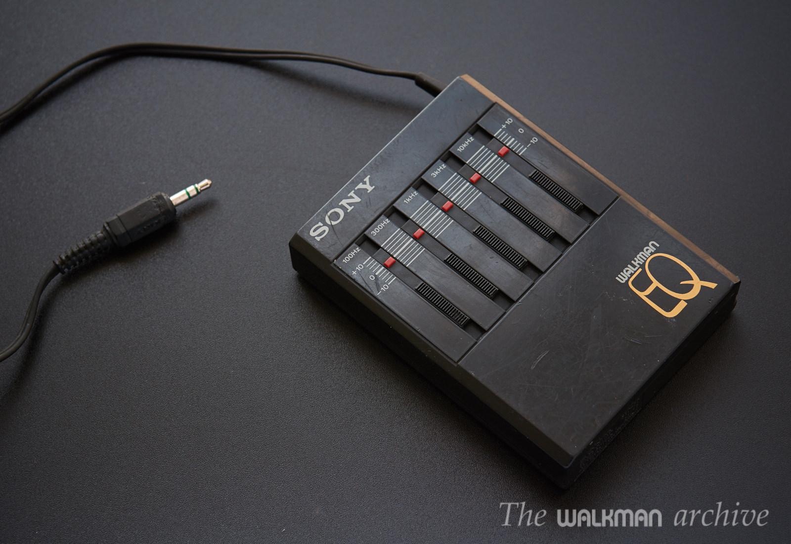Sold Sony Seq 50 Portable 5 Band Eq The Walkman Archive 3 Equalizer Status