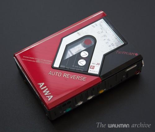 AIWA Walkman HS-J08 Red 01
