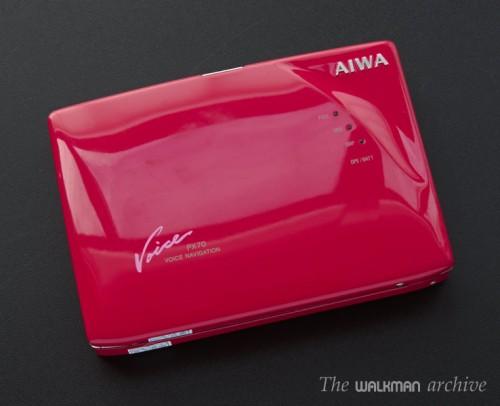 AIWA Walkman HS-PX70 Red 04