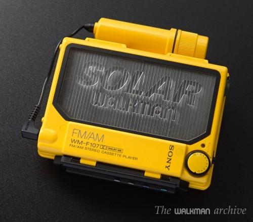SONY Walkman WM-F107 Yellow 01