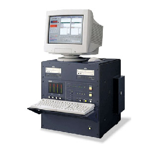 An Otari digital duplication bin, one of the commonly used machines to duplicate cassettes in the 90s.